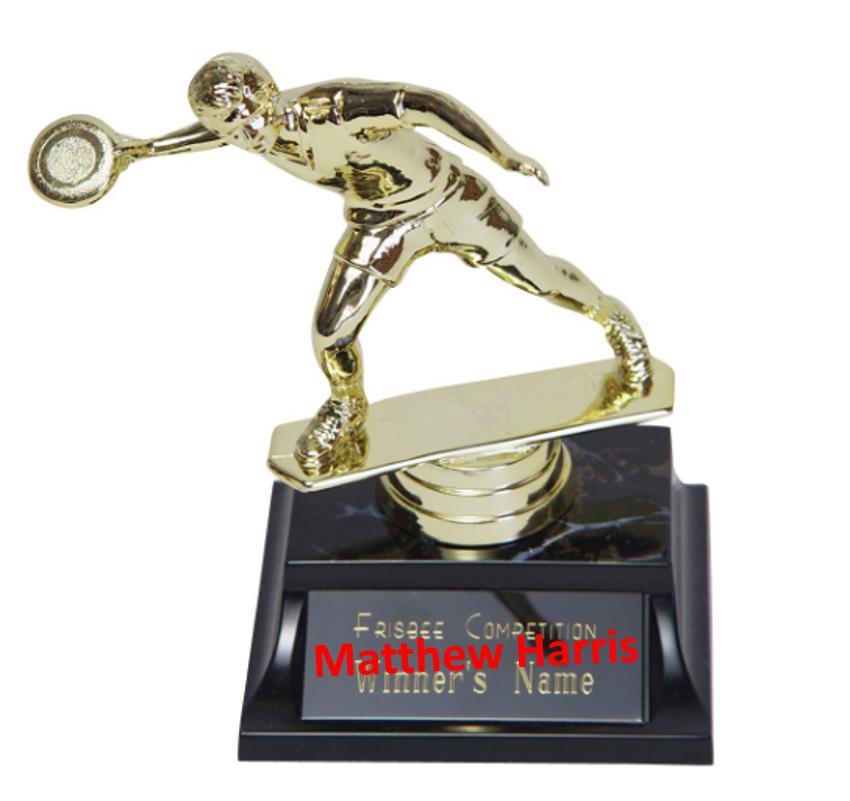Frisbee Golf Trophy