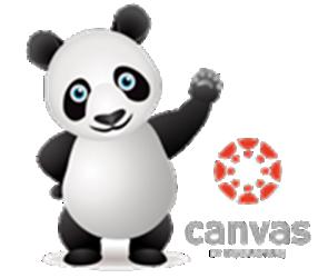 Canvas panda with wordmark_3 - OTC Online